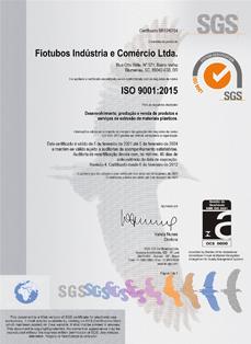 Certificado de Qualidade